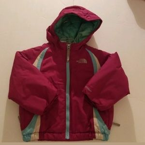 The North Face Toddler Girls Pink/Blue Jacket 3T H